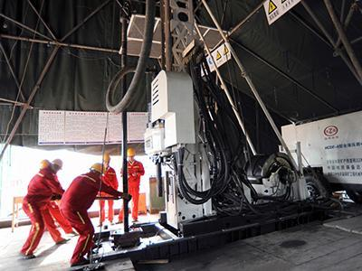 Exploration Diamond Core Drill Rig, Type HCDF-6